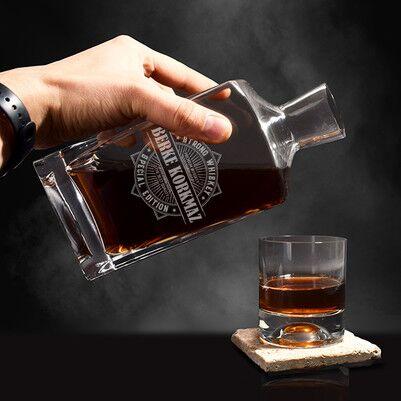 Kişiye Özel İsimli Exclusive Viski Şişesi - Thumbnail