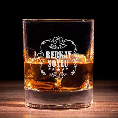 - Kişiye Özel İsimli Viski Bardağı