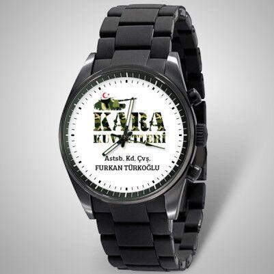 - Kişiye Özel Kara Kuvvetleri Temalı Kol Saati