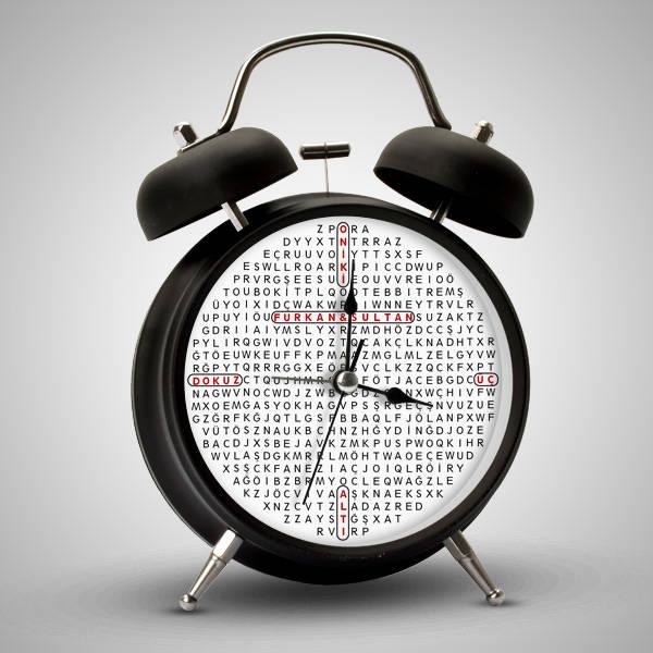 Kişiye Özel Kelime Oyunu Alarm Saat