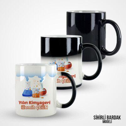 Kişiye Özel Kimyager Kupa Bardak - Thumbnail