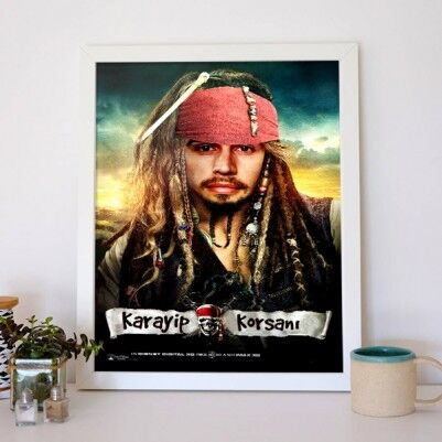 Kişiye Özel Korsan Temalı Film Afişi - Thumbnail