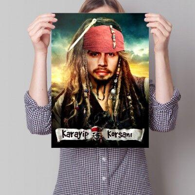 - Kişiye Özel Korsan Temalı Film Afişi