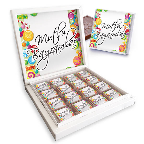 Kişiye Özel Kutu Bayram Çikolatası