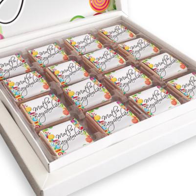 Kişiye Özel Kutu Bayram Çikolatası - Thumbnail