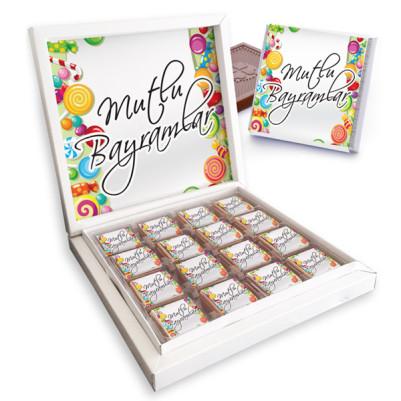 - Kişiye Özel Kutu Bayram Çikolatası