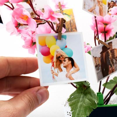 Kişiye Özel Mandallı Fotoğraflı Ağaç - Thumbnail