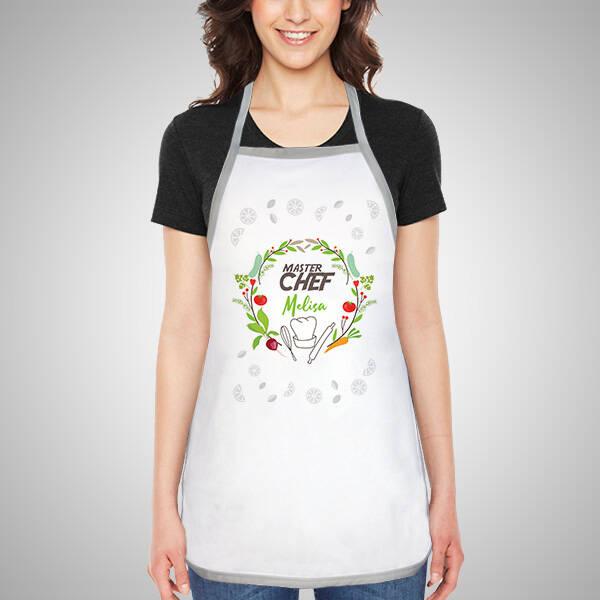 Kişiye Özel Master Chef Mutfak Önlüğü