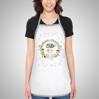 Kişiye Özel Master Chef Mutfak Önlüğü - Thumbnail