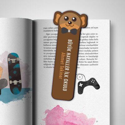 - Kişiye Özel Maymun Kitap Ayracı