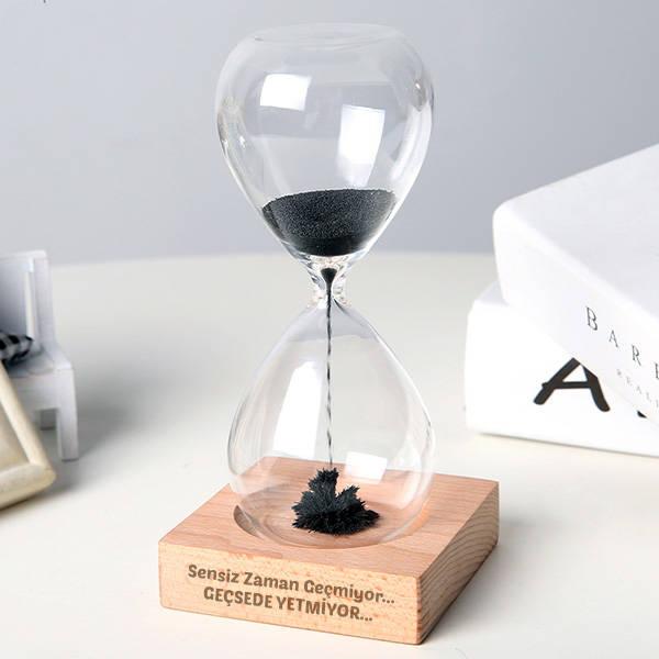 Kişiye Özel Mesajlı Manyetik Kum Saati