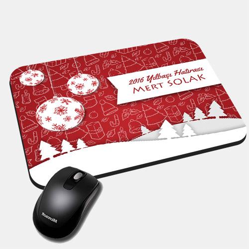 Kişiye Özel Mesajlı Yılbaşı Mousepad