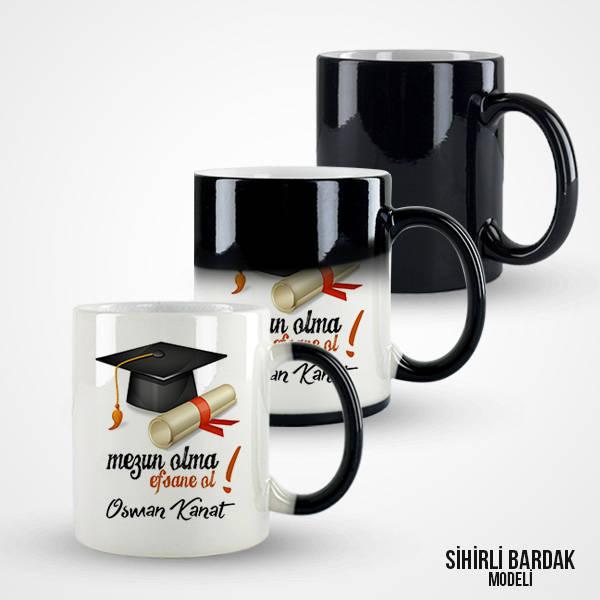 Kişiye Özel Mezuniyet Kahve Kupası