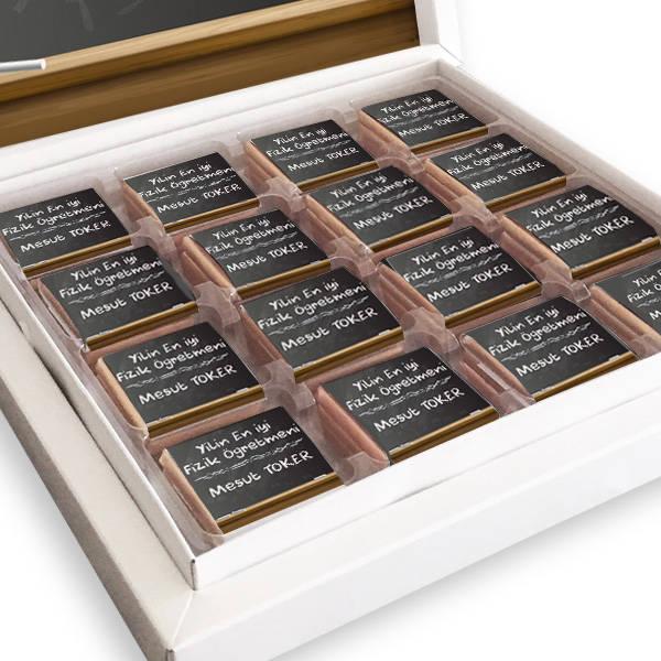 Kişiye Özel Öğretmenler Günü Çikolatası
