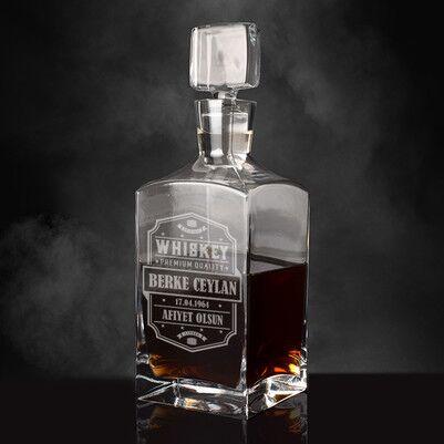 - Kişiye Özel Orijinal Viski Şişesi