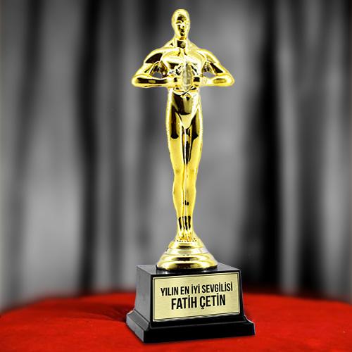 Kişiye Özel Oscar Heykelciği Hediyesi