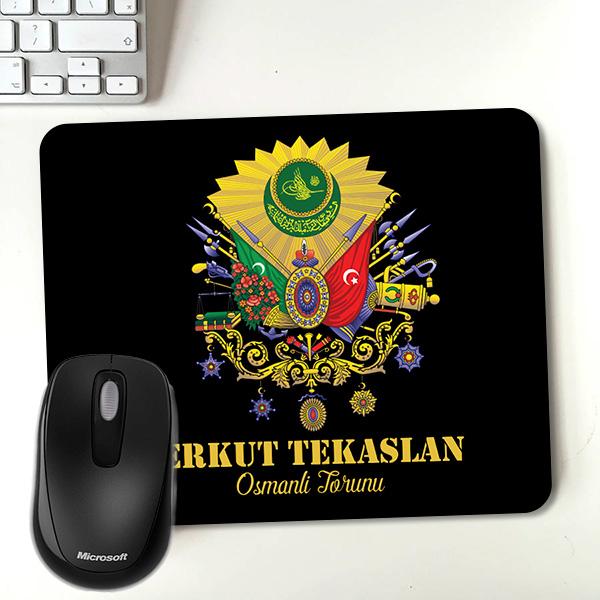 Kişiye Özel Osmanlı Armalı Mousepad