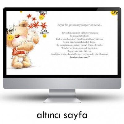 Kişiye Özel Özür Dilerim Web Sitesi - Thumbnail