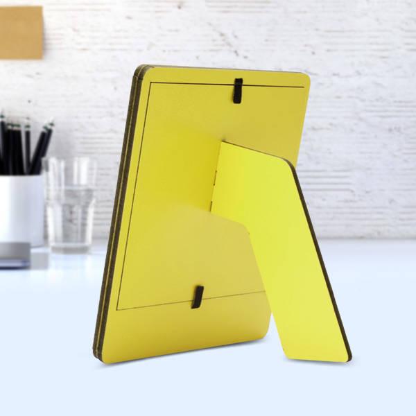 Kişiye Özel Polaroid Resim Çerçevesi Sarı