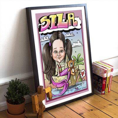 Kişiye Özel Portre Karikatür - Thumbnail