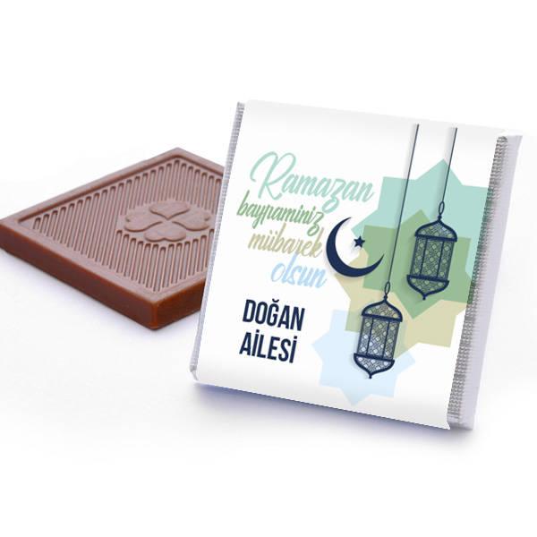Kişiye Özel Ramazan Bayramı Çikolatası