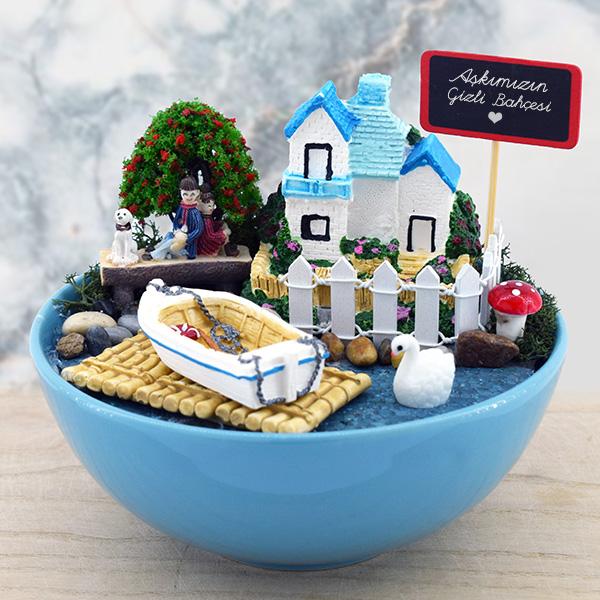 Kişiye Özel Romantik Minyatür Bahçe