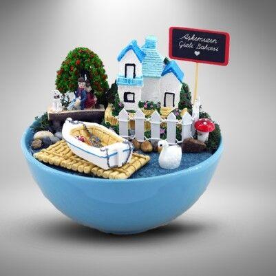 - Kişiye Özel Romantik Minyatür Bahçe
