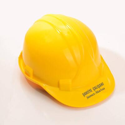 - Kişiye Özel Sarı İş Bareti