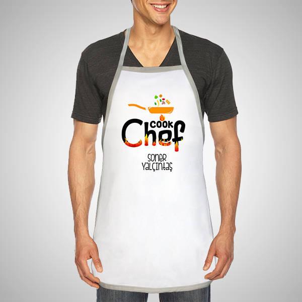 Kişiye Özel Şef Aşçı Mutfak Önlüğü