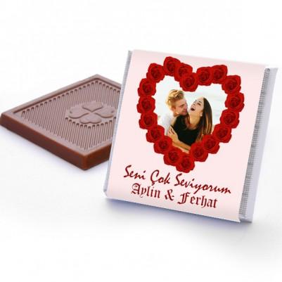 Kişiye Özel Seni Çok Seviyorum Çikolataları - Thumbnail