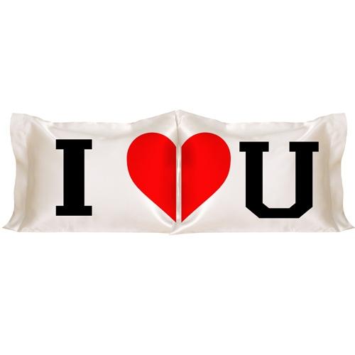 Kişiye Özel Seni Seviyorum 2'li Yastık