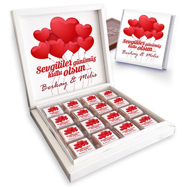 Kişiye Özel Sevgililer Günü Çikolatası