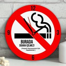 - Kişiye Özel Sigara İçilmez Duvar Saati