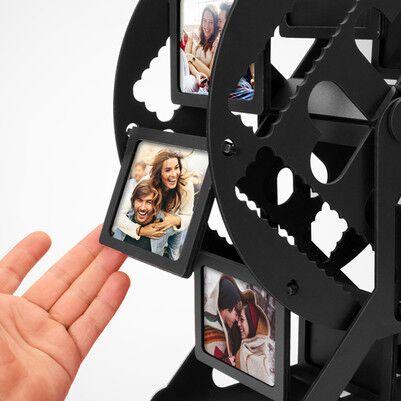 Kişiye Özel Siyah Dönme Dolap Fotoğraf Çerçevesi - Thumbnail