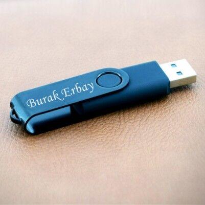 - Kişiye Özel Siyah USB Bellek