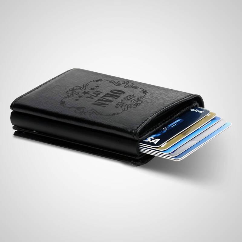 Kişiye Özel Tasarım Kredi Kartlık Cüzdan