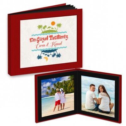 Kişiye Özel Tatil Anılarımız Foto Kitap Albüm - Thumbnail