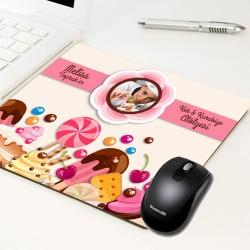 - Kişiye Özel Tatlı Şeyler Mousepad