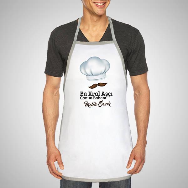 Kişiye Özel Usta Aşçı Mutfak Önlüğü