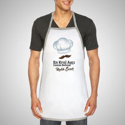 - Kişiye Özel Usta Aşçı Mutfak Önlüğü