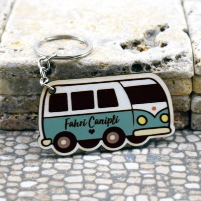 - Kişiye Özel Vosvos Minibüs Anahtarlık