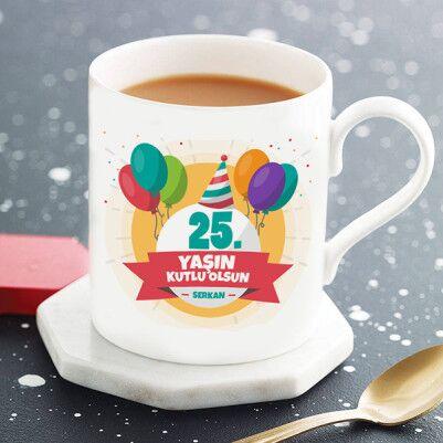 - Kişiye Özel Yaş Günü Kupa Bardağı