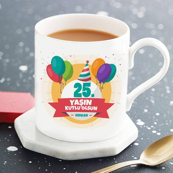 Kişiye Özel Yaş Günü Kupa Bardağı
