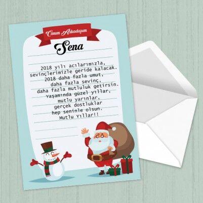 - Kişiye Özel Yeni Yıl Mektubu