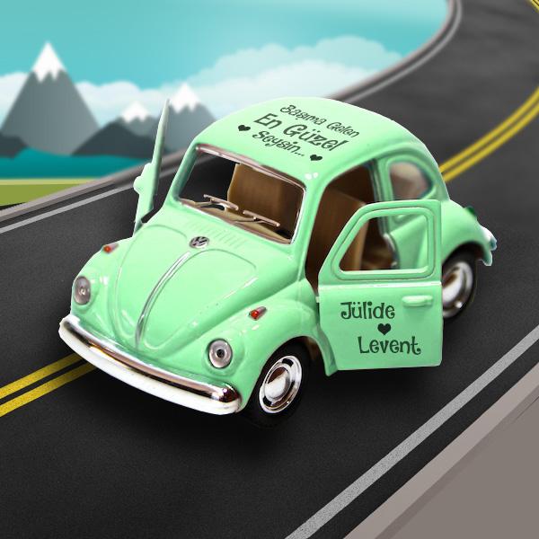 Kişiye Özel Yeşil Vosvos Araba