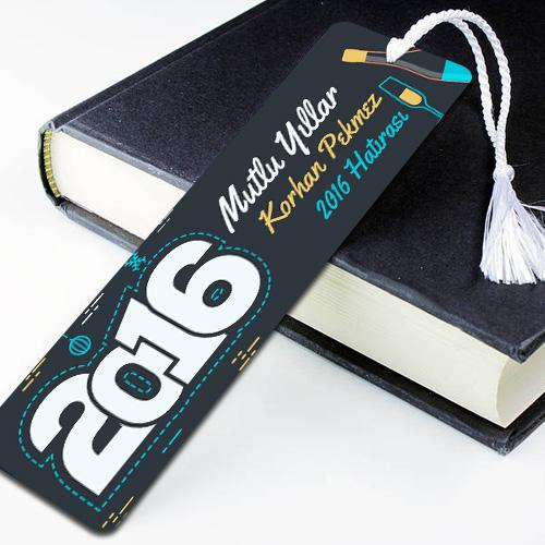 Kişiye Özel Yılbaşı Kitap Ayracı