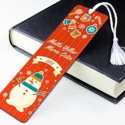 - Kişiye Özel Yılbaşı Temalı Kitap Ayracı