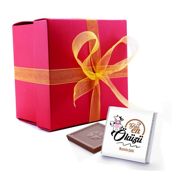 Kişiye Özel Yılın Öküzü Çikolatası