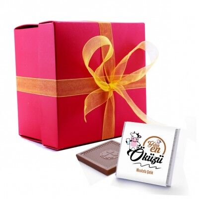 - Kişiye Özel Yılın Öküzü Çikolatası