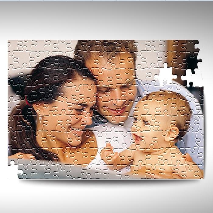 Kişiye Özel 240 Parça Dikdörtgen Puzzle